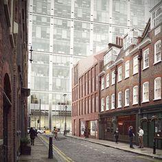 duggan morris architects / blossom street building . london