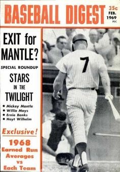 Sports Magazine Covers: Mickey Mantle