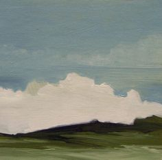 MINI 609 oil painting original landscape small 100 by PaintingWell