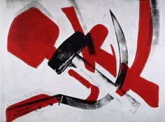 Hammer & Sickle by Andy Warhol