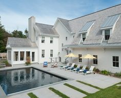 house design, architecture, grey and white