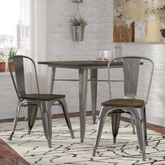 Shop a great selection of Fortuna Dining Chair (Set Trent Austin Design. Find new offer and Similar products for Fortuna Dining Chair (Set Trent Austin Design. Solid Wood Desk, Solid Wood Dining Chairs, Upholstered Dining Chairs, Dining Chair Set, Dining Room Chairs, Dining Furniture, Side Chairs, Furniture Decor, Industrial Dining Chairs