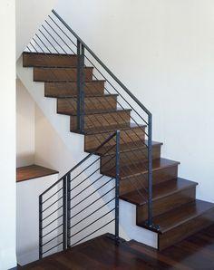 modern staircase by John Lum Architecture, Inc. AIA [via houzz]