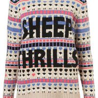 Knitted Sheep Thrills Jumper - Sweaters - Knitwear  - Apparel