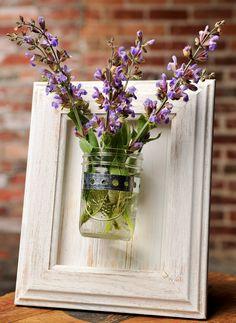 hang around kitchen window - for herbs, floral arrangements, candles, dep. on season