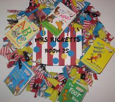 dr seuss classroom decorations | Dr. Seuss wreath!