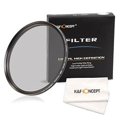 KF Concept 52mm Slim CPL MiltiCoated Circular Polarizer Filter for NIKON D7100 D7000 D5200 D5100 D5000 D3300 D3200 D3100 D3000 DSLR Cameras  Lens Cleaning Cloth >>> To view further for this item, visit the image link.