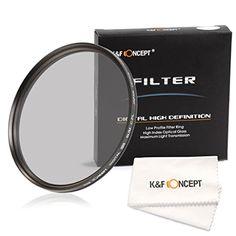 K&F Concept 77mm Slim CPL Glas Filter Objektiv Zubehör Objektivfilter 77mm für Canon 6D 5D Mark II 5D Mark III Nikon D610 D700 D800 DSLR Kamera + Faser Reinigungstuch für Objektive - http://kameras-kaufen.de/k-f-concept/k-f-concept-77mm-slim-cpl-glas-filter-objektiv-77mm