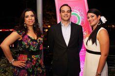 Awilda Sánchez, Daniel Espinal y Jennifer Ortiz.