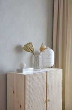 Ikea Ivar hack - the Ivar has been given a whole new look with rattan fronts. Ikea Ivar hack – the Ivar has been given a whole new look with rattan fronts. Ve… Ikea Ivar hack – the Ivar has been given a whole new look with rattan fronts. Ivar Ikea Hack, Ikea Hackers, Ikea Hack Nightstand, Ikea Ivar Cabinet, Ikea Cabinets, Cabinet Doors, Cabinet Storage, Cane Furniture, Ikea Furniture