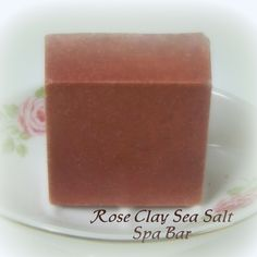 Introducing our Rose Clay Sea Salt Spa Bar.....This has become one of my daughter's favorites!!!  A fantastic blend of rose clay and sea salt plus the beautiful scent of Lavender, Ylang Ylang, Litsea and Bergamont essential oils.