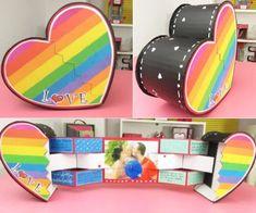 Hemos llegado al #1 de nuestroTOP5 mejores tarjetas para San Valentín.Estoy súper emocionada por traerles esta maravilla tarjeta corazón sorpresa. Leer más Handmade Birthday Gifts, Cute Birthday Gift, Friend Birthday Gifts, Diy Birthday, Diy And Crafts, Crafts For Kids, Paper Crafts, Diy Gift Box, Diy Gifts For Boyfriend