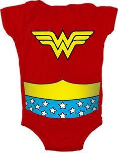 Infant  Red DC Comics Hero The Flash Uniform Costume Snapsuit Baby Romper
