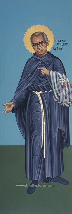 Religious Images, Religious Icons, Religious Art, Catholic Art, Catholic Saints, St Maximilian, Comedy And Tragedy, Religious Paintings, History Of Photography