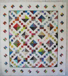 jewel box quilt pattern | Alamosa Quilter: Scrap Jar Jewel Box