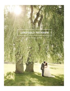 Wedding photography magazine templates. Pricing guide, price list, new client studio packet. High-end Marketing and branding materials. Photoshop templates for professional photographers. Lauren Ashley Photography- Welcome Information