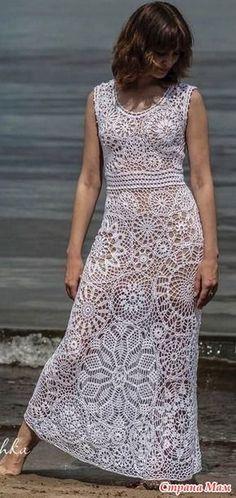 Fabulous Crochet a Little Black Crochet Dress Ideas. Georgeous Crochet a Little Black Crochet Dress Ideas. Crochet Wedding Dresses, Crochet Bodycon Dresses, Black Crochet Dress, Knit Dress, Dress Wedding, Beau Crochet, Crochet Lace, Filet Crochet, Simple Dresses