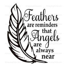 Letter Discover SVG - Feathers are Reminders - Memorial svg - Tile SVG - Ornament svg - Christmas svg - Angel svg - feather svg - tshirt svg - sympathy svg Memories Quotes, Cricut Tutorials, Cricut Vinyl, Silhouette Design, Cricut Design, Life Quotes, Son Quotes, Sister Quotes, Baby Quotes