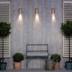 Newport Downlighter | Exterior Wall Light | Outdoor Lighting | Jim Lawrence