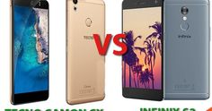 Tecno Camon CX VS Infinix S2 Specifications Comparison (Differences)  Camon CX VS Infinix S2 Specifications Comparison (Differences)  guess ama'bout to save you from that delima you find yourself urself every time you think about this two devices. Two heavy duties going head to head and having a similar strength in their photo shooting prowess. Let's take a closer look at them both. TECNO CX  Specifications:  Full Metal Body.5.6mm Slim  Water Drop Screen  2.5D Glass screen  3200mAh…