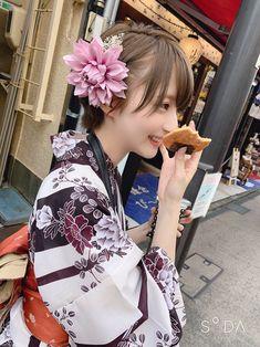 Beautiful Japanese Girl, Japanese Beauty, Beautiful Asian Girls, Asian Beauty, Japanese Short Hair, Chica Cool, Anime Girl Neko, Uzzlang Girl, Kimono Japan