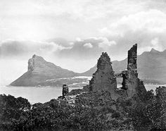 Old Ruin at Hout Bay, Cape Town Old Pictures, Old Photos, Hiking Photography, Off Road Adventure, Cape Town South Africa, Fishing Villages, African History, Best Hotels, Monument Valley