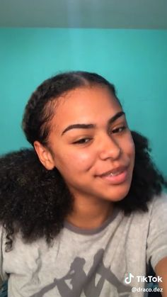 Easy Black Hairstyles, Mixed Girl Hairstyles, Baddie Hairstyles, Braided Hairstyles, Kid Hairstyles, Hairdos For Curly Hair, Curly Hair Styles Easy, Medium Hair Styles, Natural Hair Styles