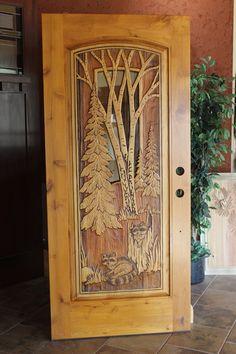 49)Messer door exterior