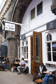 the best dooughnuts St John Bakery Room, Maltby Street Market, London
