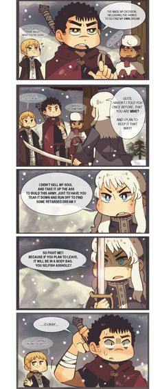 """Berserk crack comic"" by OrangeLightning123.deviantart.com on @DeviantArt"