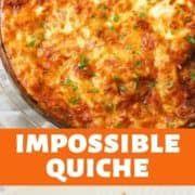 Breakfast Muffins, Breakfast Casserole, Breakfast Ideas, Breakfast Recipes, Ham And Cheese Quiche, Bacon Quiche, Impossible Quiche, Dinners To Make