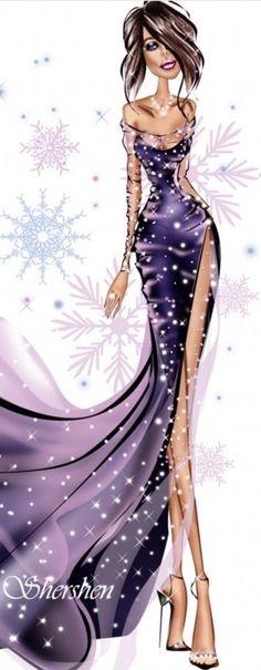 Fashion Illustration by anna shershen
