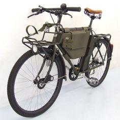 Swiss Army Bike - Velo Zürich Dutch Bicycle, Cargo Bike, Adventure Gear, Touring Bike, Vintage Bikes, Cycling Bikes, Swiss Army, Cool Bikes, Road Bike