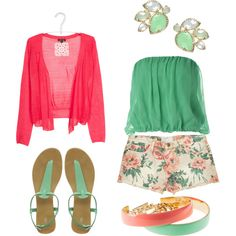 more offf my favorite colors!     created by chasity-paige-chatt on Polyvore