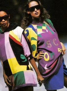 Marpessa  Roshumba Versace 1989