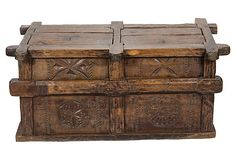 HOME DECOR – FURNITURE – TRUNK – 19th-C. Indian  Grain Chest on OneKingsLane.com
