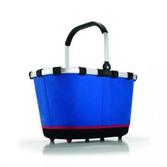 Koszyk carrybag 2 royal blue - DECO Salon. Shopping cart Carrybag 2 German brand Reisenthel. #shopping #basket #forhome #gift