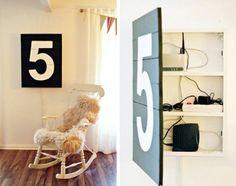 Oversized Art Storage - 15 Secret Hiding Places That Will Fool Even the Smartest Burglar