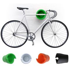 Cycloc: The Modern Wall Bike Rack
