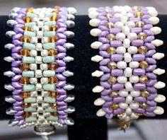 Linda  DIY tutorial bracelet with seed beads Super by MadeByOlga