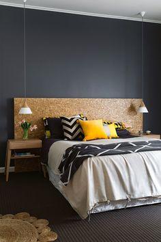 Dark Bedroom Furniture Ideas Wood Headboard Ideas For 2019 Black Headboard, Wood Headboard, Wood Bedroom, Bedroom Bed, Bedroom Furniture, Bedroom Decor, Bedroom Ideas, Furniture Ideas, Bedroom Inspiration