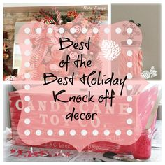 knock off decor party round up 90 + inspiring ideas from Pottery barn, County Living and more! Bookmark for next years inspiration!