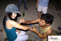Bodypainting am Strand Strand, Thailand, Tour Operator, Bodypainting, Travel