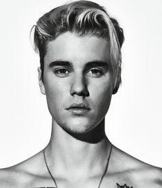 Justin Bieber GQ Black and White Main