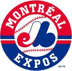 Expos Logo, Expos Montreal, Beste Logos, Expos Baseball, Sports Team Logos, Sports Teams, Baseball Pictures, Circle Logos, Mlb Teams