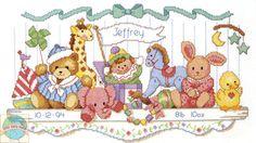 Cross Stitch Kit ~ Dimensions Stuffed Toy Shelf Baby Bi...