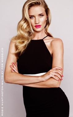 Rosie Huntington Whiteley for Modelco Spring 2014 campaign