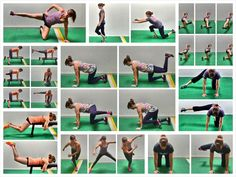 15 Bodyweight Glute Exercises | Redefining Strength Fitness Workouts, Abs Workout Routines, Ab Workout At Home, Workout Videos, At Home Workouts, Cardio Workouts, Boxing Workout, Bodyweight Glute Exercises, Outdoor Training
