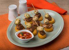 Deliciosa receta de Mini Pinchos de fritada - PRONACA