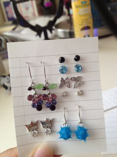 Earring holder!!!
